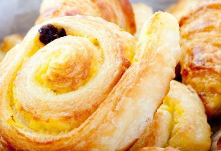 dannis and croissant photo