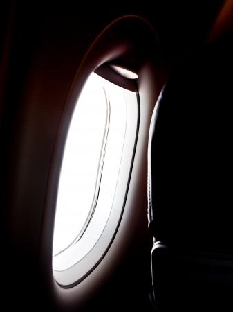 airplane window Stock Photo - 18399693