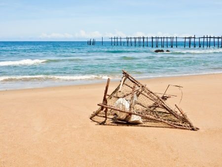 beautiful beach near Phuket, Thailand photo