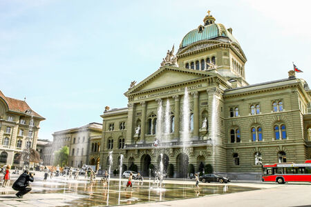 parliament house of Switzerland in Bern, Switzerland