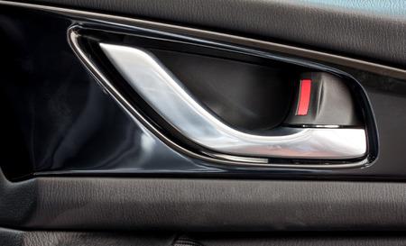 car door opening handle photo