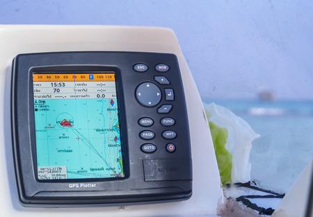 speedboat GPS navigator