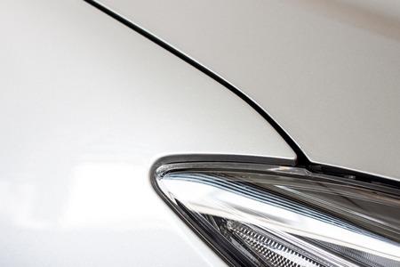 shiny car: shiny car body part Stock Photo