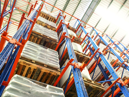 storage warehouse: high rack in warehouse