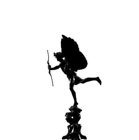 eros: silhouette of Eros