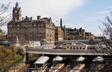 waverley: Edinburgh Waverley station, Scotland, UK