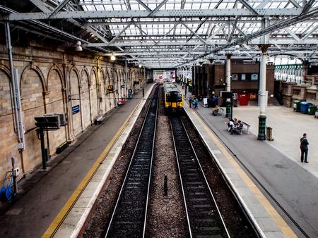 waverley: Wavwerley station in Edinburgh, Scotland, UK