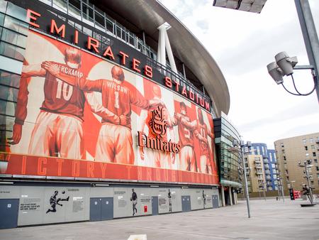 emirates: Emirate stadium, London, UK