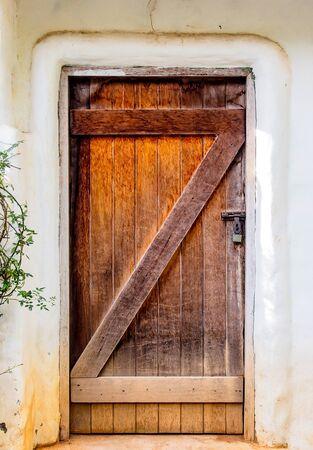 old doors: beautiful wooden door background