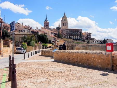 Segovia old town, Spain