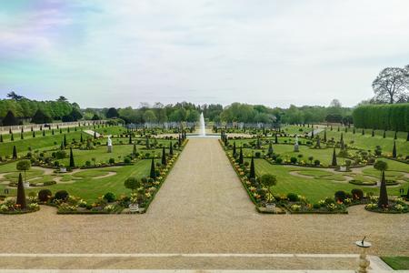 Kensington palace garden, London, UK Editorial