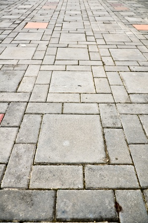 pave: Textures of pathway on the floor Stock Photo