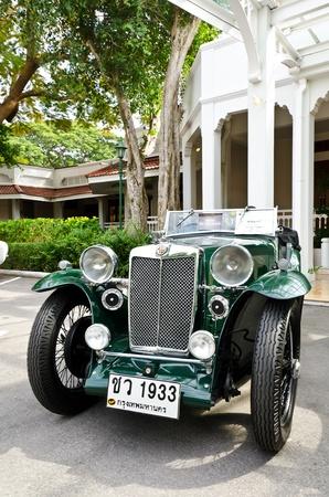 MG Magna L1, Retro Car auf Oldtimer-Parade 2011 at Sofitel Resort am 17. Dezember 2011 in Hua Hin, Thailand. Standard-Bild - 11542292
