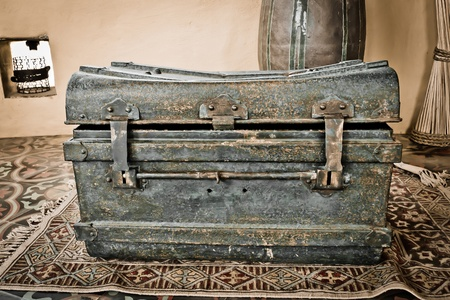 Old antique chest photo