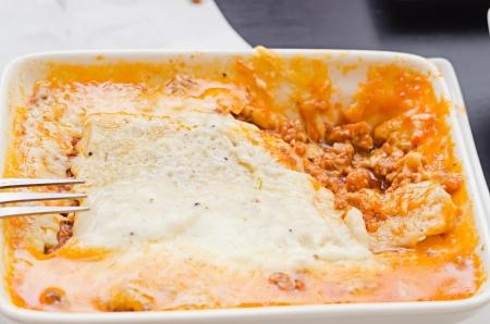 Pork lasagna photo