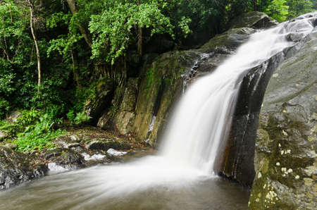 Waterfall in the national park, PaLa U waterfall photo