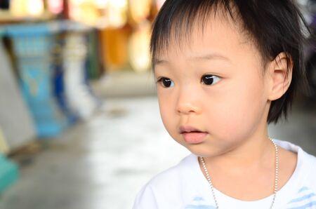funny cute asian girl Stock Photo - 14906481