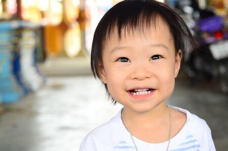 funny cute asian girl Stock Photo - 14906482