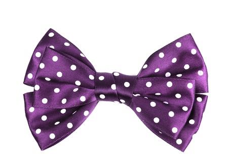 bow hair: Lazo para el cabello c�rculo cinta patr�n aislado sobre fondo blanco