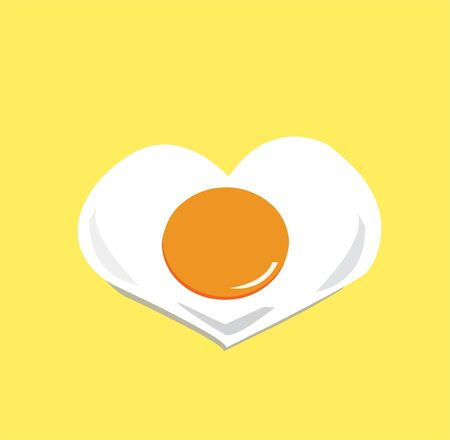 Heart egg Vector