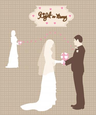 affair: Bride, groom and the mistress