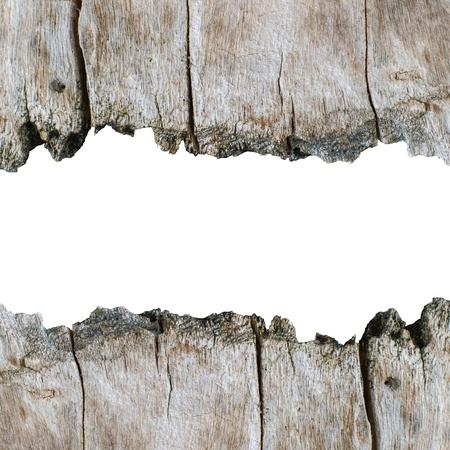 Holz Textur Hintergrund mit isolierten copyspace für Text Standard-Bild - 18690852