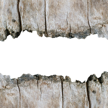 weathered: Wood texture background with isolated copyspace for wording