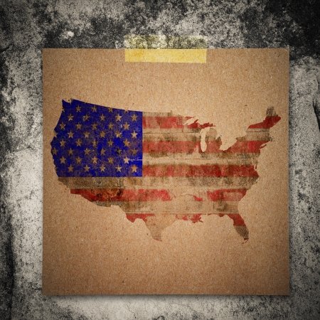 4th of July Grunge Texture Paper note นืgrunge wall background photo