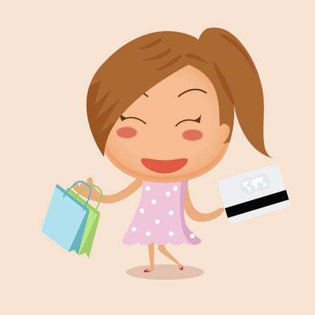 citylife: Shopping girl