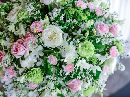 material flower: Romantic vintage rose background