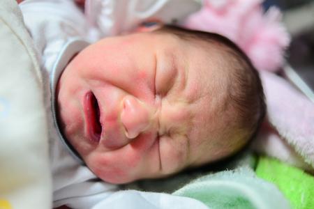 New born baby. photo