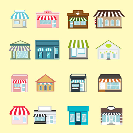 Store shop collections Vector