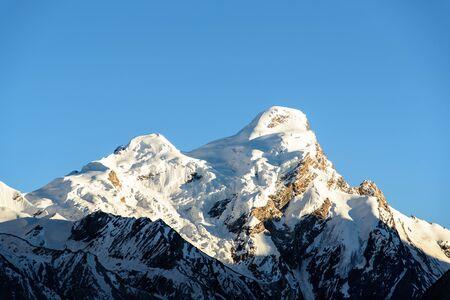 kashmir: Close up top of mountains,Himalaya range,Jammu & Kashmir, India