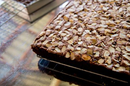 plato del buen comer: brownie casero.