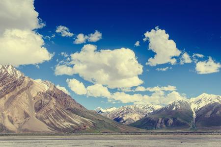 ladakh: Himalayan landscape in Leh Ladakh,India