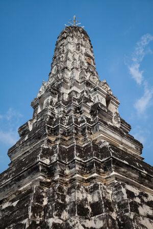 phra nakhon si ayutthaya: Old pagoda at Wat phananchoeng, Phra Nakhon Si Ayutthaya Province