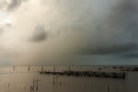 precipitation: The rainy season, and the fish of the fishermen.