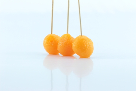 gold egg: Thong Yod (Gold Egg Yolks Drops) desserts are long