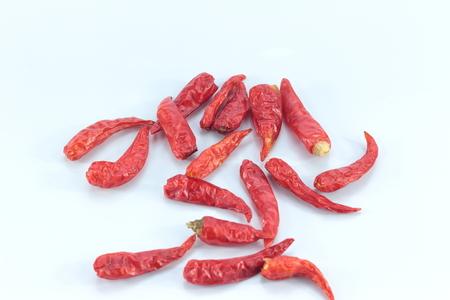 produits alimentaires: piment séché et la cuisson de la vie apportée