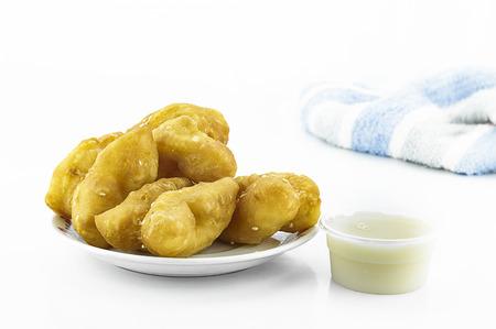 sweetened: Patongko Sweetened condensed milk Stock Photo