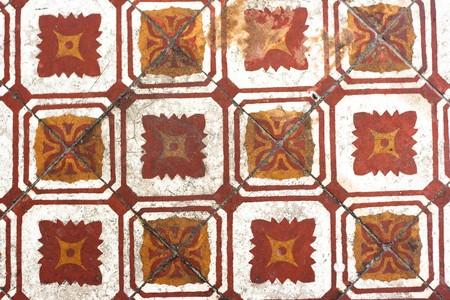 Old stytle floor tile photo