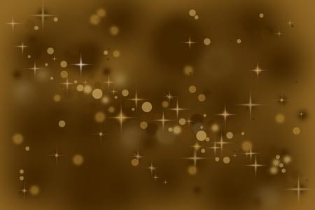 Magic sparkle bokeh photo