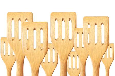 kitchen tool: Wooden kitchen tool Stock Photo