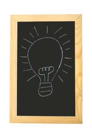 Good idea on blackboard Stock Photo - 9751894
