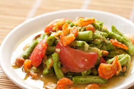 long bean: Yard log bean salad