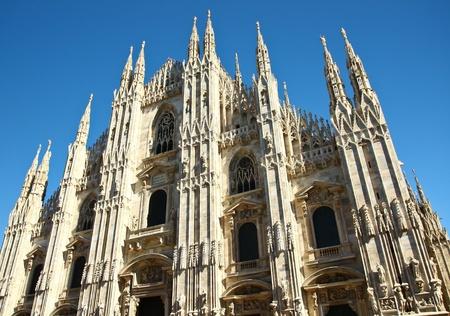 mil�n: DuomoChurch, Mil�n, Italia Foto de archivo