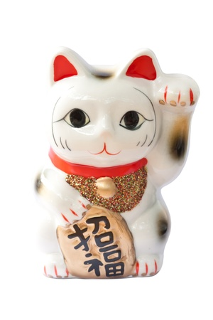 Japanese lucky cat Stock Photo - 10994953