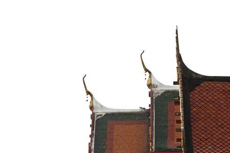 Thai temple roof photo