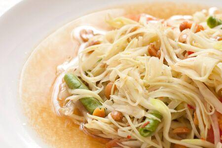 somtum: Thai papaya salad