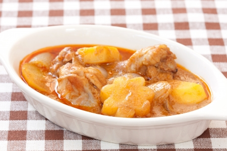 Thai delicious massaman curry as world class favorite food